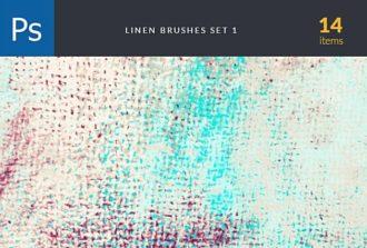 Linen Brush Set 1 Photoshop Brushes [tag]