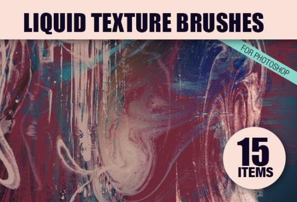 Liquid-Photoshop-Brushes-Set-1 designtnt brushes liquid small