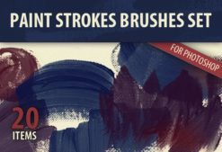Paint-Strokes-PS-Brushes Addons brush|Editor's-Picks-–-Brushes|paint|painted|splash|stroke