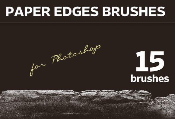Paper-Edges-Photoshop-Brushes Photoshop Brushes brush|edge|paper|torn
