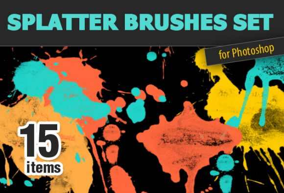 Splatter-PS-Brushes Photoshop Brushes brush|Editor's-Picks-–-Brushes|splash|splatter