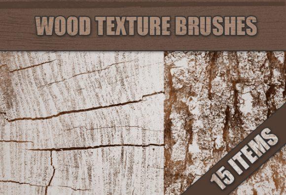 Wood-Photoshop-Brushes-Set-1 designtnt brushes wood small