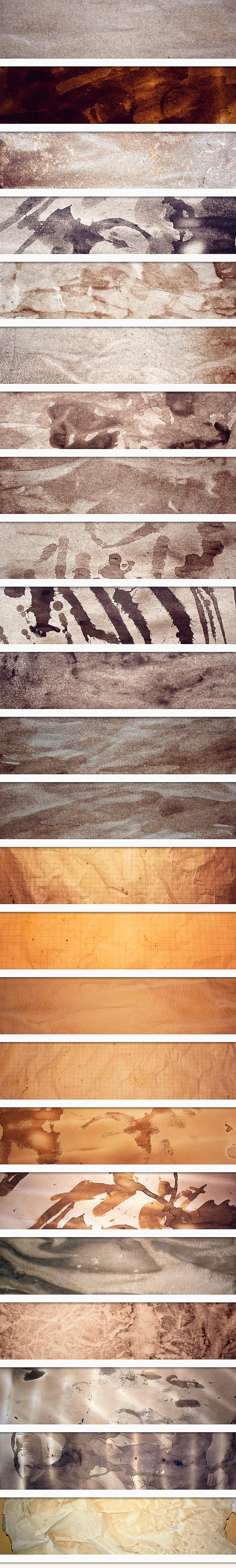 Old Paper Textures Set 1 6