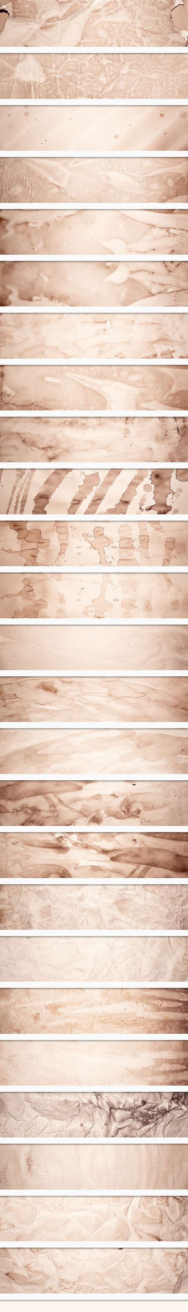 Stained Paper Textures Set 2 6