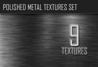 Polished Metal Textures Set Textures aluminium|circular|industrial|iron|metal|plate|polished|silver|stainless-steel|titanium|texture