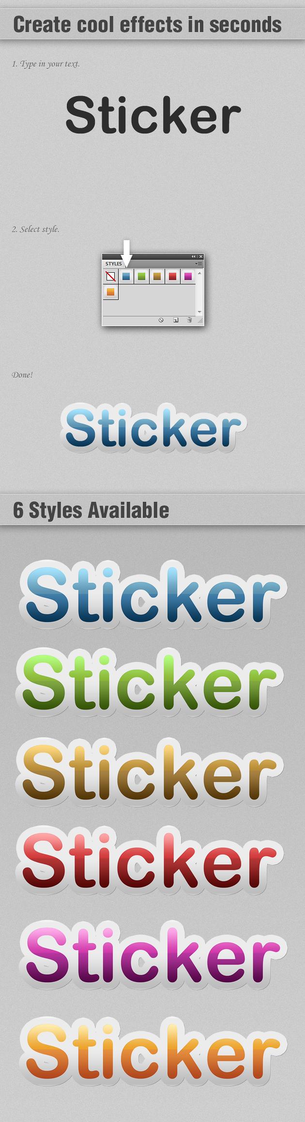 Sticker-Photoshop-Text-Styles designtnt sticker photoshop text styles large1