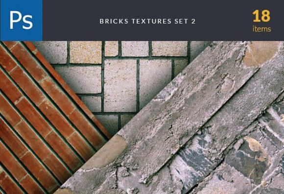 Brick Textures Set 2 Textures brick textures set for photoshop