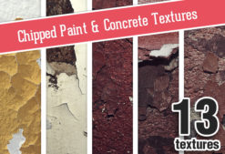 Chipped Paint Concrete Set 1 Textures chipped|concrete|paint|wall|texture