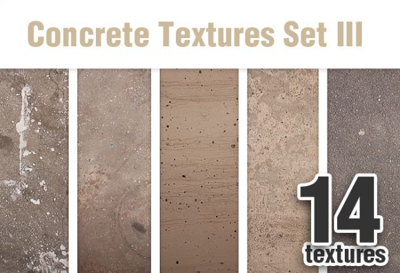 Concrete Textures Set 4 Textures concrete textures set for photoshop