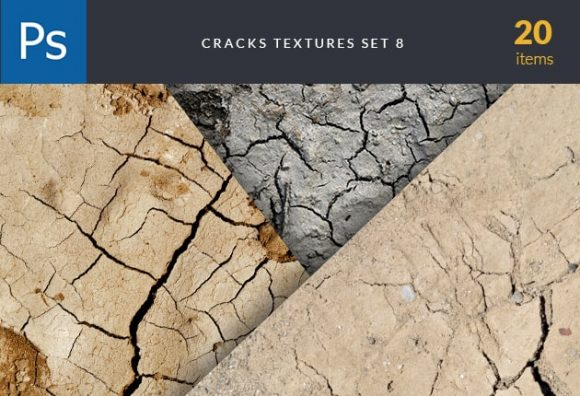 Cracks Texture Set 8 Textures cracks textures set for photoshop
