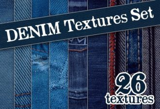 Full library Pricing designtnt textures denim set small