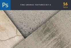 Fine Grunge Cement Set 6 Textures fine grunge cement set for photoshop