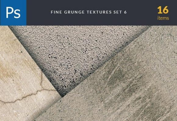 Fine Grunge Cement Set 6 Textures fine grunge cement set for photoshop
