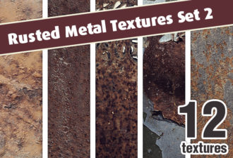 Rusted Metal Textures Set 2 Textures eroded|metal|rust|rusted|texture