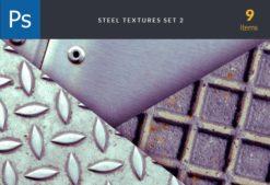 Steel Set 2 Textures Steel Set textures for photoshop