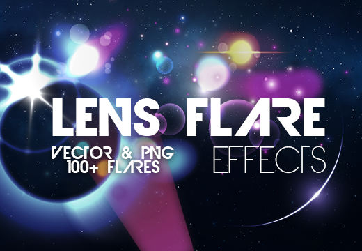 The Easiest Way to Apply Lighting Effects without Photoshop Brushes 100 Lens Flare effects Photoshop Brushes 80off|Designer|lens-flare|lens-flare-effects