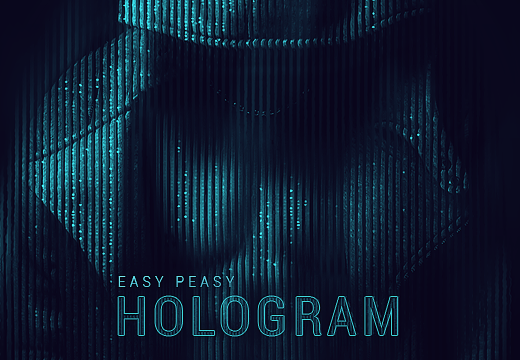The-Easy-Peasy-HoloGram-FX Add-ons 80off|atn|Editor's-Picks-–-Addons|hologram-effects|photoshop-actions