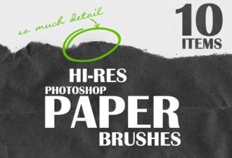 Ripped-Paper-Photoshop-Brushes Photoshop Brushes brush|Editor's-Picks-–-Brushes|grunge|paper|ripped
