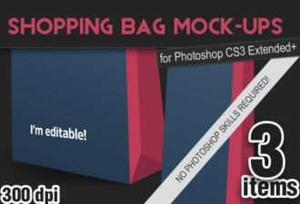 Shopping-Bags-PS-Mock-ups Add-ons addon|bag|shopping|mock-up