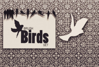 Birds-Ps-brushes Addons bird|dove|nature|sparrow|swallow
