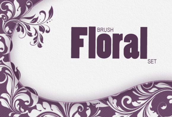 Floral-Ps-brushes-set-1 previews brushes floral 1
