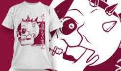T-shirt Design 1832 – Punk's Not Dead T-shirt designs and templates vector