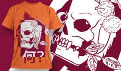 T-shirt Design 1838 – Nani !? T-shirt designs and templates vector