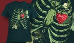 T-shirt Design 1847 T-shirt designs and templates leaf
