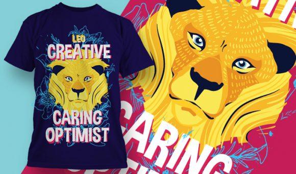 T-shirt design 1889 T-shirt Designs and Templates floral