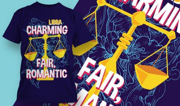 T-shirt design 1891 T-shirt Designs and Templates floral