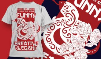 T-shirt design 1905 T-shirt Designs and Templates floral