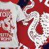 T-shirt Design 1834 - Demon designious tshirt design 1906