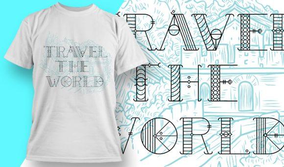 T-shirt design 1919 T-shirt Designs and Templates vector