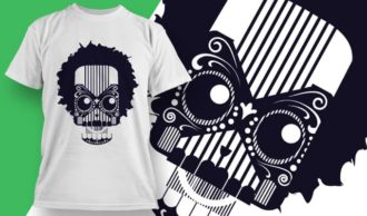 T-shirt design 1920 T-shirt Designs and Templates vector