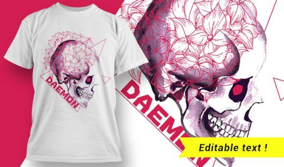 T-shirt design 1945 T-shirt Designs and Templates vector