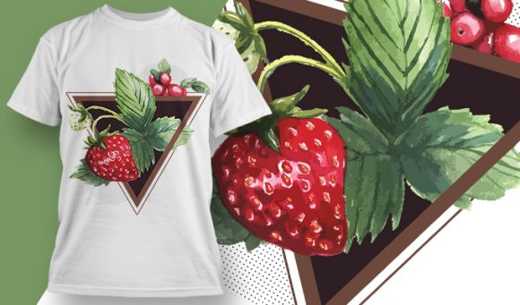T-shirt design 1946 T-shirt Designs and Templates leaf