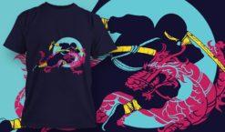 T-shirt design 1951 T-shirt designs and templates vector