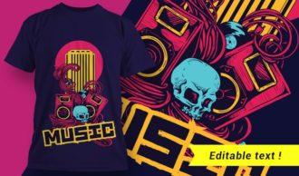 T-shirt design 1957 T-shirt Designs and Templates vector