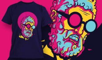 T-shirt design 1961 T-shirt Designs and Templates vector