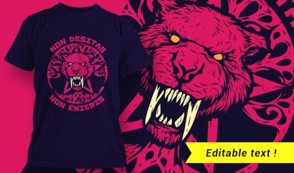 T-shirt design 1969 T-shirt Designs and Templates vector
