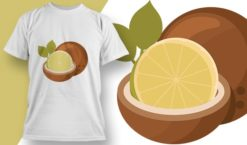 T-shirt design 1983 T-shirt designs and templates lime