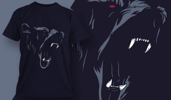T-shirt design 1986 T-shirt Designs and Templates vector