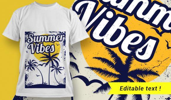 T-shirt design 2005 T-shirt Designs and Templates tropical