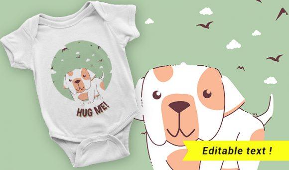 T-shirt design 2032 T-shirt Designs and Templates vector