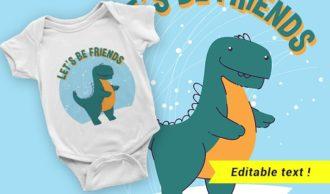 T-shirt design 2040 T-shirt Designs and Templates vector