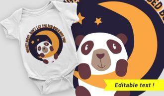 T-shirt design 2054 T-shirt Designs and Templates vector