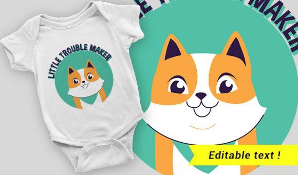 T-shirt design 2064 T-shirt Designs and Templates vector