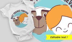 T-shirt design 2066 T-shirt designs and templates vector