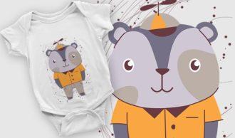 T-shirt design 2085 T-shirt Designs and Templates vector