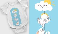 T-shirt design 2107 T-shirt designs and templates vector
